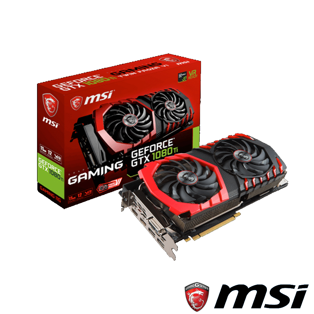 MSI微星 GeForce GTX 1080 Ti GAMING 11 G 顯示卡