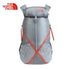 The North Face灰色可收納式技術背包