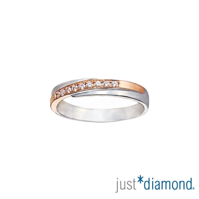 Just Diamond甜蜜恰恰 男女對戒-細版(女戒)