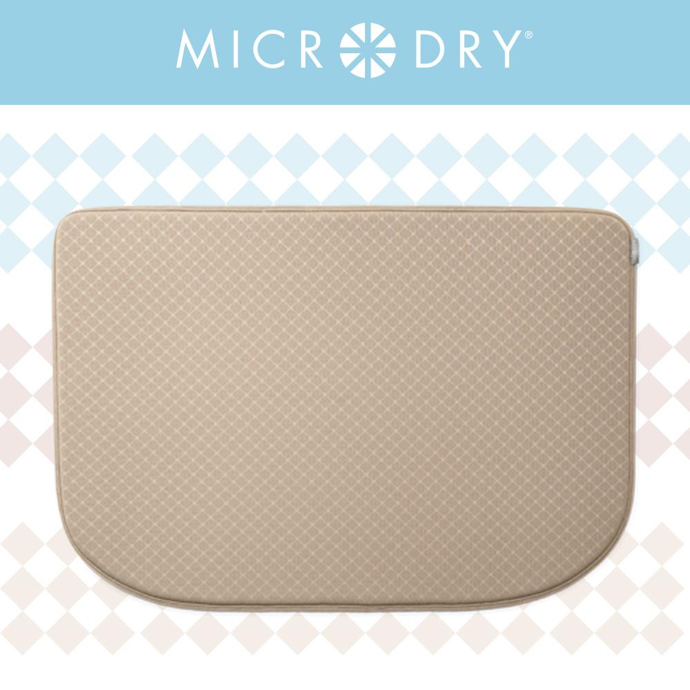 MICRODRY 網紋多功能地墊-亞麻色(F)