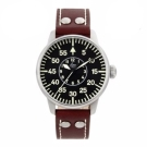 Laco朗坤 Augsburg 夜光飛行機械腕錶-黑/42mm 861690