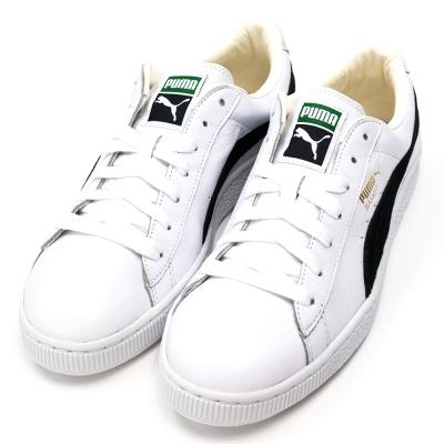 PUMA-BASKET-CLASSIC男休閒鞋-白
