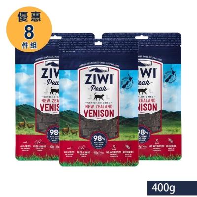 ZiwiPeak巔峰 98%鮮肉貓糧*鹿肉400G (一箱8包)