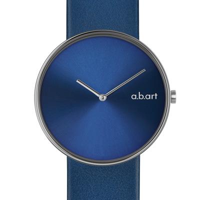 a.b.art DL系列 都會極簡時尚腕錶-藍/39mm