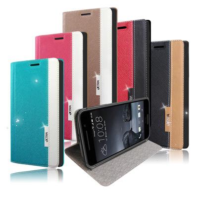 VXTRA HTC One A9 韓系潮流 磁力側翻皮套