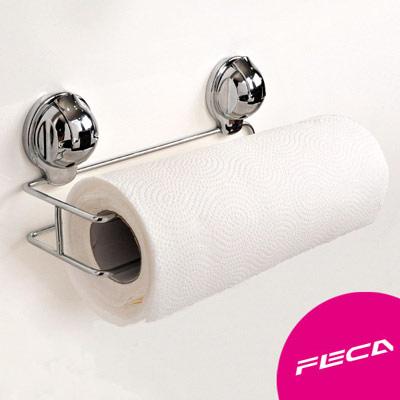FECA非卡 無痕強力吸盤 廚房紙巾架(附吸盤)