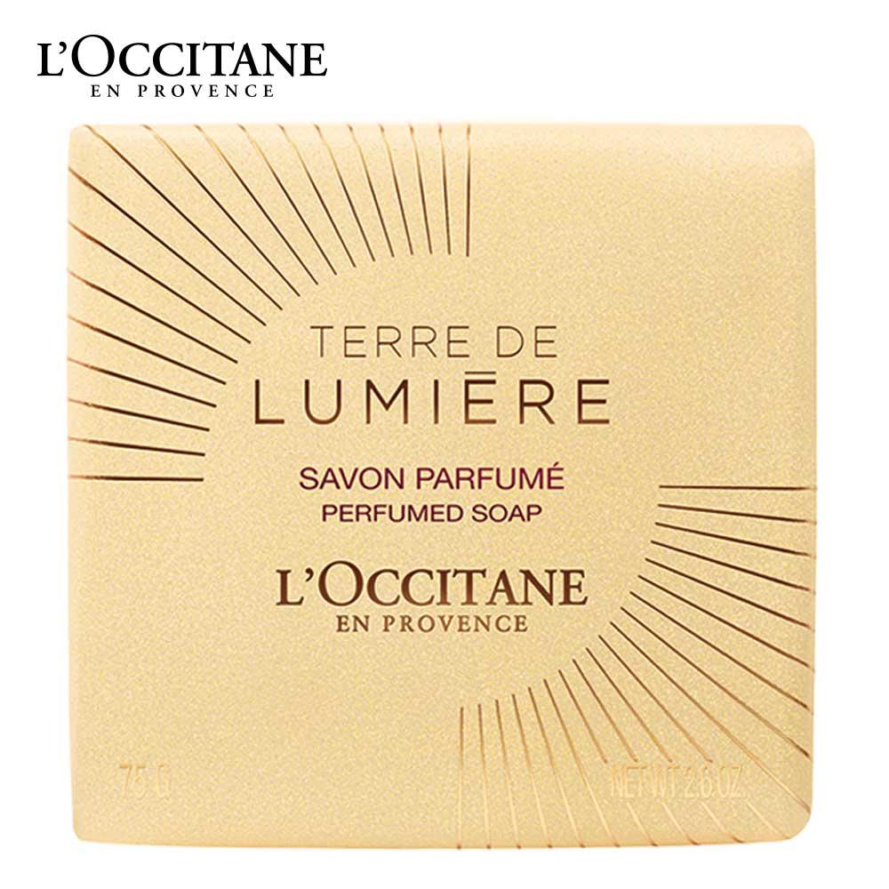 L'OCCITANE歐舒丹 純境之光金燦香氛皂75g