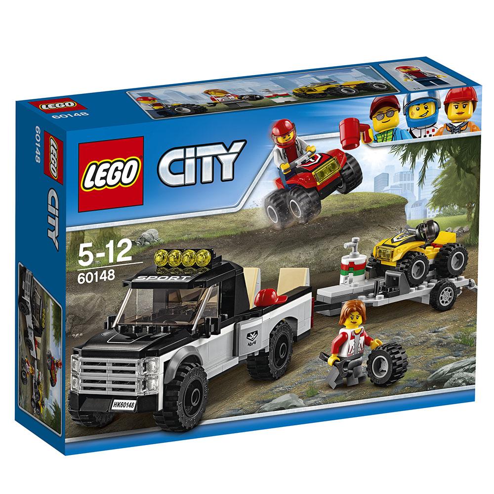 LEGO樂高 城市系列 60148 全地形賽車隊 (5Y+)