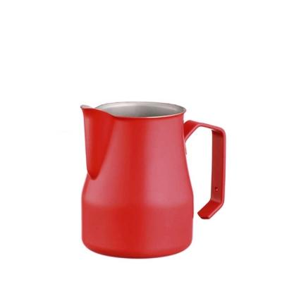 義大利MOTTA 專業拉花杯 350ml 紅色(HC7092)