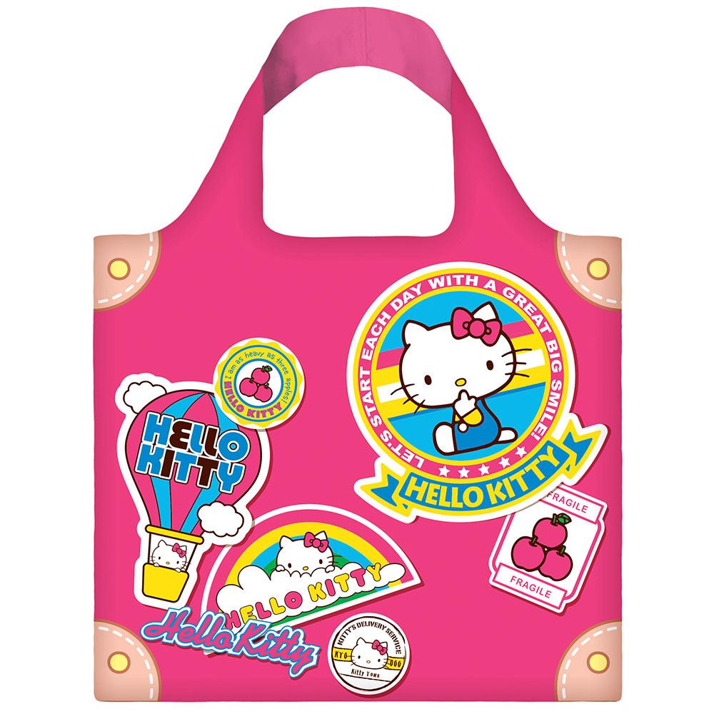 LOQI 春捲包│Hello Kitty - 行李箱 KT06