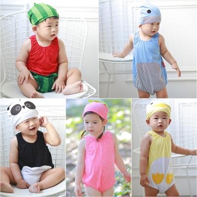baby童衣 無袖造型包屁衣附帽子 60296