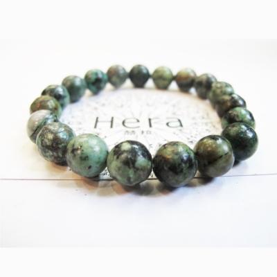 Hera 頂級溫潤柔和綠松石手珠(10mm)