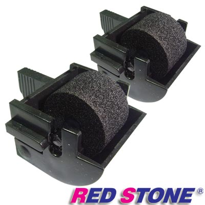 RED STONE for 支票機墨輪/墨球組(1組2入)黑色