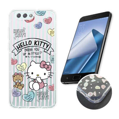 HELLO KITTY ASUS ZenFone 4 ZE554KL 氣墊空壓殼...
