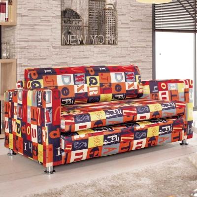 沙發床-傑那斯-布面兩用沙發床-品家居