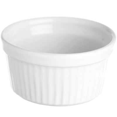 EXCELSA 白陶布丁烤杯( 9 cm)