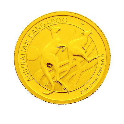 2018年澳洲袋鼠金幣-1/10盎司(OZ)