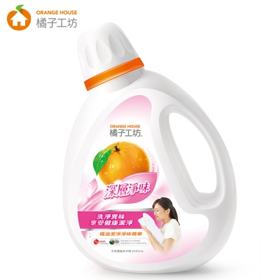 橘子工坊 天然濃縮洗衣精 2200ml -深層淨味