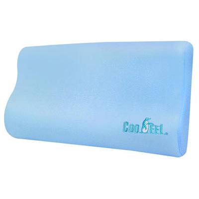【CooFeel】台灣製造高級酷涼紗高密度記憶枕(加大)