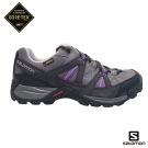 Salomon 登山鞋 低筒 GORETEX 防水 女 ESCAMBIA 紫