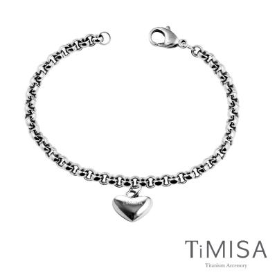 TiMISA《真心風之戀》純鈦手鍊(S)
