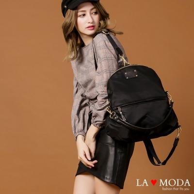 La Moda 出國旅行機場時尚 防盜防潑水3way手提肩背後背包