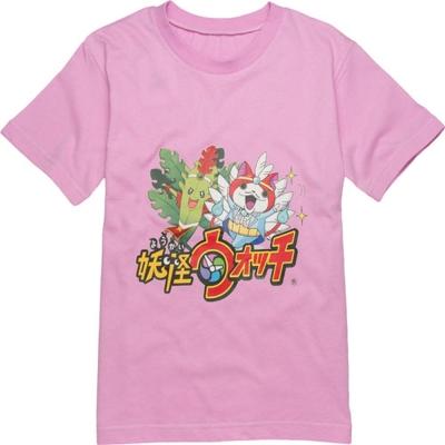 anny pepe妖怪手錶短袖T恤_粉
