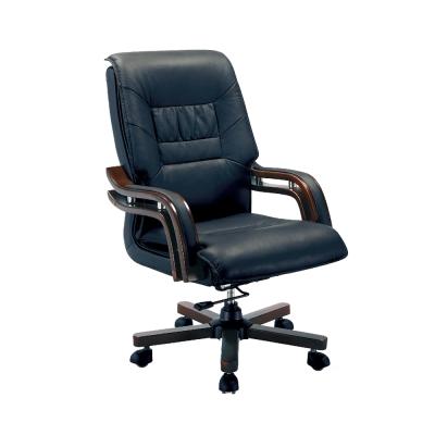 Boden-喬格半牛皮主管辦公椅-65x51x112-116cm