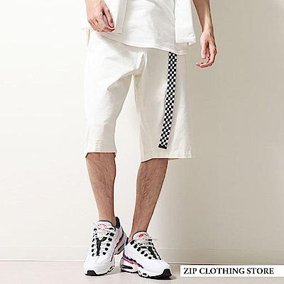 寬版Chino短褲基本素色(3色) ZIP日本男裝