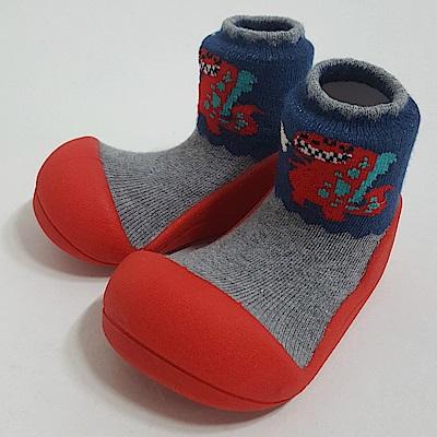 韓國Attipas 快樂學步鞋A18DR-紅底侏羅紀