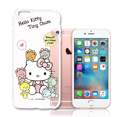 Hello-Kitty-iPhone-6-6s-plus-5-5吋浮雕透明軟殼-熊好朋友
