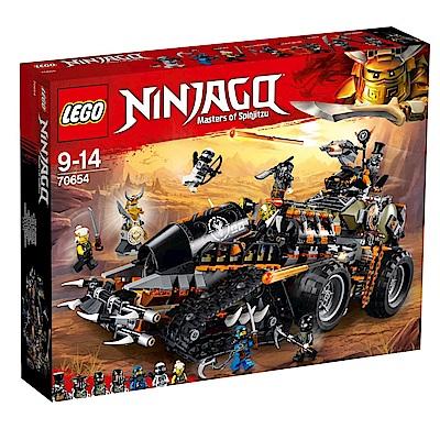 樂高LEGO 旋風忍者系列 LT70654 獵龍戰車