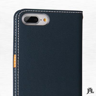 JTL iPhone 7  Plus手工真皮側掀式皮套