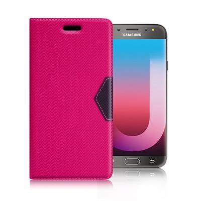 GENTEN Samsung Galaxy J7 Pro 簡約守護磁力皮套