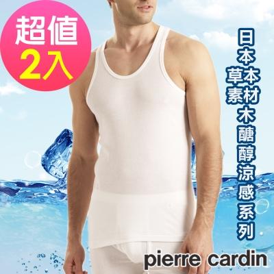 Pierre Cardin皮爾卡登 木醣醇涼感背心(超值2件組)