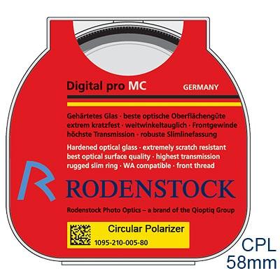 RODENSTOCK PRO Digital CPL M58濾鏡(公司貨)