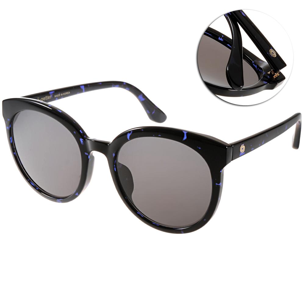 Go-Getter太陽眼鏡 韓系圓框/琥珀藍#GS4003 07
