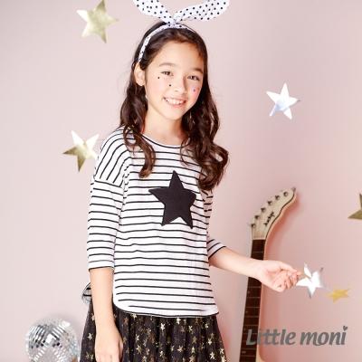 Little moni 條紋星星上衣 (共2色)