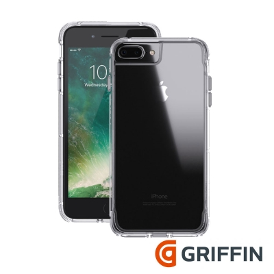 Griffin Survivor Clear iPhone7 5.5吋軍規防摔殼