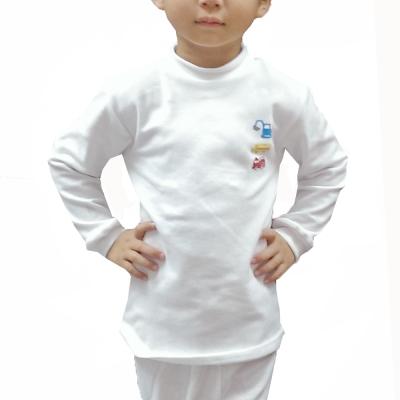 LOVIN BABY一王美台灣製超彈性男童高領衛生衣~4件