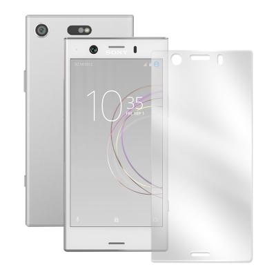 LUCCIDA Sony XZ1 Compact 3D滿版9H鋼化玻璃曲面膜