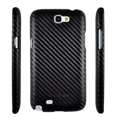 Metal-Slim-Samsung-Galaxy-Note-2-卡夢黑-保護殼