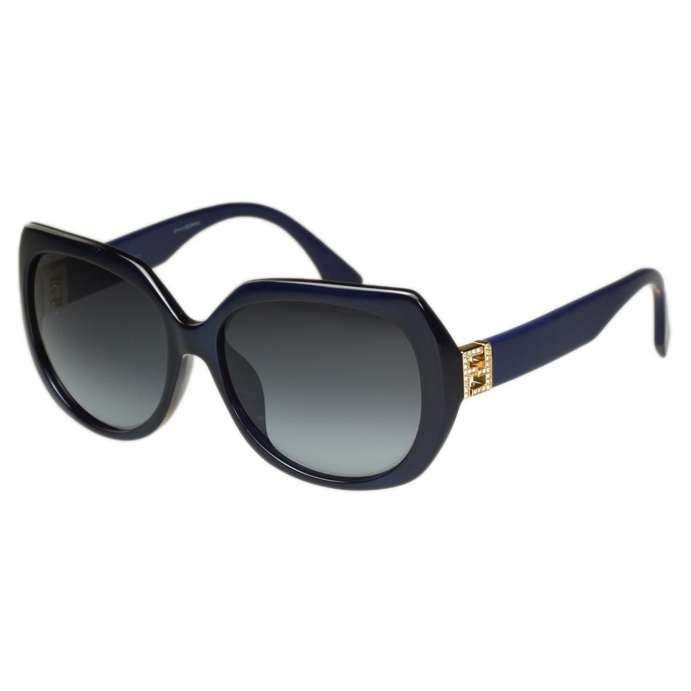 FENDI 時尚太陽眼鏡 (藍色)FF0047FS