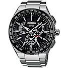SEIKO精工ASTRON GPS 8X53雙時區鈦金屬衛星錶(SBXB123J)