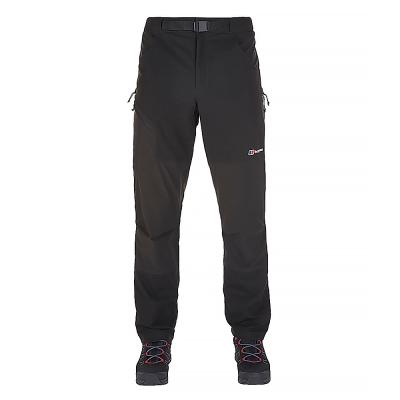 【Berghaus 貝豪斯】男款4方彈性登山保暖長褲H31MH4黑