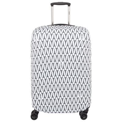 DELSEY法國大使行李箱保護套M/L-黑鐵塔