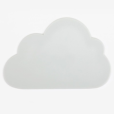 Dailylike 森林樂園造型矽膠隔熱墊-02雲朵