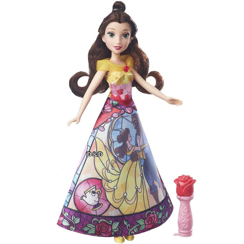 迪士尼公主系列貝兒公主故事裙裝遊戲組
