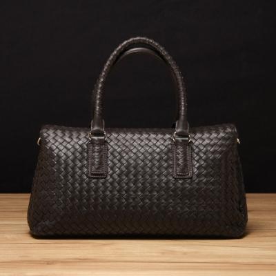 STORY 皮套王 - 羊皮編織手提包 Style  6304