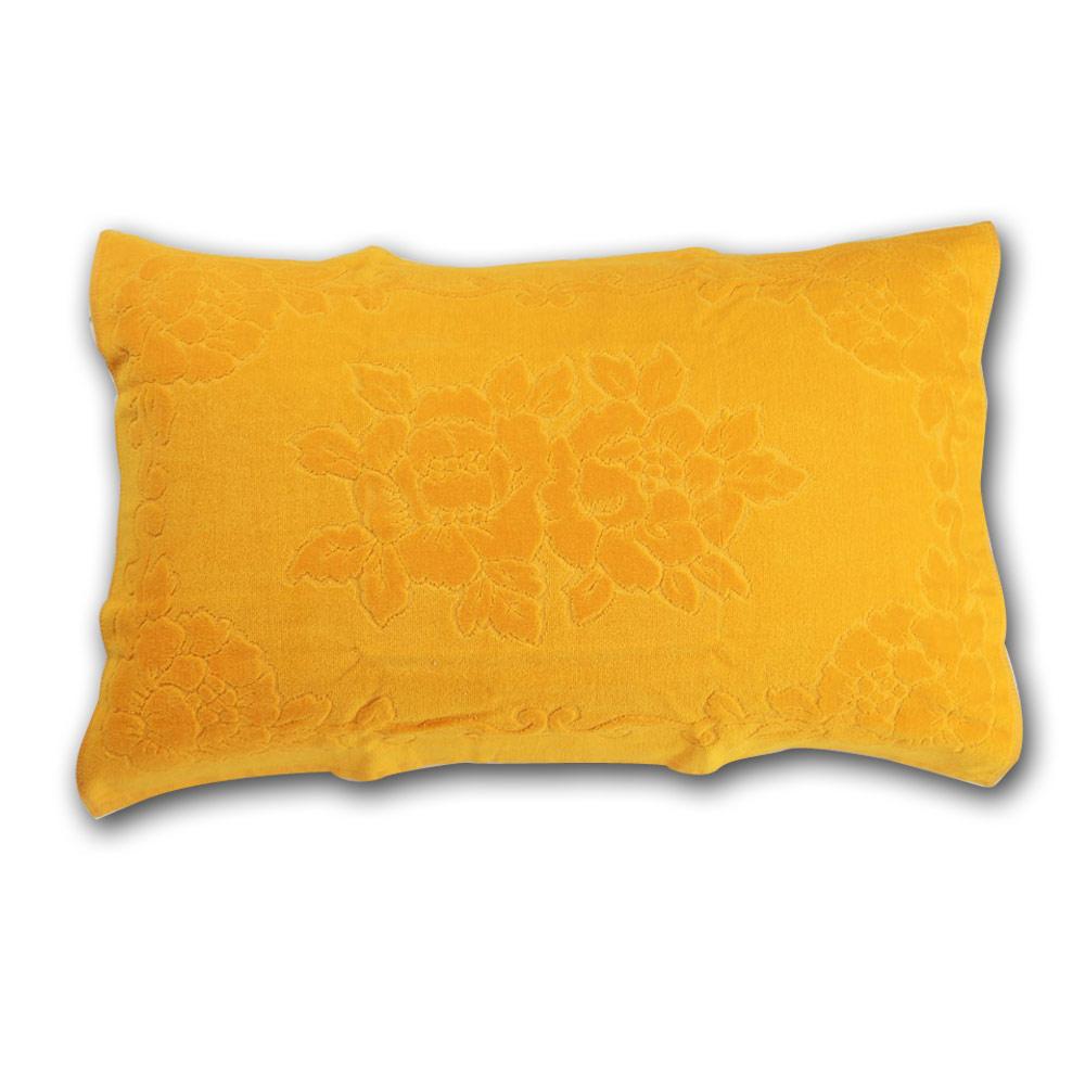 《HOYA active》超柔細純棉壓紋枕巾(2入) 16.亮麗黃